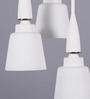 Learc Designer Lighting White Mild Steel Pendant