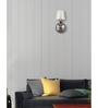 Lime Light White Glass Wall Mounted Light