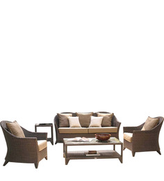 Lounge Sofa Set (3S + 1S + 1S + CT) By GEBE