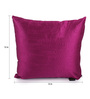 Lushomes Pink Polyester 12 x 12 Inch Cushion Covers - Set of 5