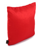 Lushomes Red Polyester 12 x 12 Inch Cushion Covers - Set of 10