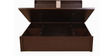 Magna Queen Bed with Hydraulic Storage in Walnut Finish by HomeTown