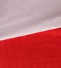 Mark Home Ribbon Red Cotton Single Size Dohar