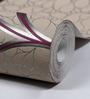 Marshalls Wallcoverings Grey & Purple Non Woven Fabric Wallpaper