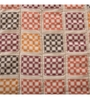 Maspar Red Fabric Queen Size Quilt