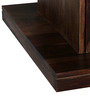 Rosendale Coffee Table with Storage in Provincial Teak Finish by Woodsworth