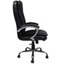 Moderna High Back Chair in Black Colour by The Furniture Store