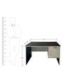 Nano Study & Laptop Table by Pine Crest