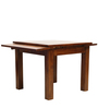 Nantes Expandable (4 to 6) Seater Dining Set in Natural Finish by Tezerac