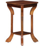 Barlow End Table in Provincial Teak Finish by Amberville