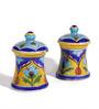 Neerja Pottery Multicolour Ceramic Dholak Box