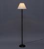 Volga Floor Lamp in Off White by CasaCraft