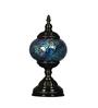 Prasuta Table Lamp in Blue by Mudramark