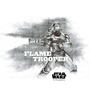 Licensed Flame Trooper Digital Printed Wall Decal