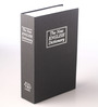 PackNBUY Black Metal 10 x 6 x 2.5 Inch Numeric Dictionary Book Safe