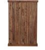 Glendale Sheesham Wood Book Shelf in Provincial Teak Finish by Woodsworth