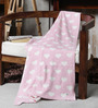 Pluchi Little Hearts Knitted Baby Cotton Kid's Blanket