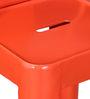 Raglan Bar Chair in Orange Color by Bohemiana
