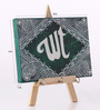 Rang Rage Multicolour Canvas The Mystic Allah Key Holder