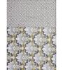 Ratan Jaipur Yellow and Grey Cotton Quilt
