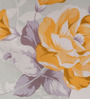 Raymond Home Greens Nature & Florals Cotton Queen Size Bed Sheets - Set of 3