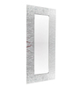 Riflessi Transparent Glass Mito Designer Wall Mirror