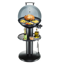 Rommelsbacher Standgrill With Hinged Cover