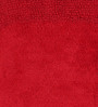 Fabricio Bath Mat in Red by Casacraft