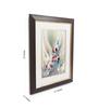 Sadhana Porwal Wood 17 x 1.5 x 22 Inch Om Vibhutyai Namah Framed Aroma Painting