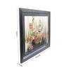Sadhana Porwal Wooden 36 x 1.5 x 24 Inch of Budding Though Riot of Floral Colours Framed Painting