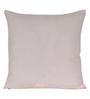 Sanaa Multicolour 100% Cotton 16 x 16 Inch Floral & Chawal Dana Work Cushion Cover