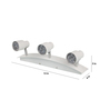 Niteroi Picture Light in White by CasaCraft