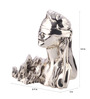 Shaze Resin with Silver Plating Money Goddess Figurine