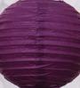 Skycandle Purple Round Paper Lantern