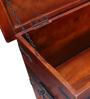 Slaney Trunk in Honey Oak Finish by Amberville