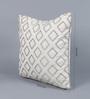 Solaj Multicoloured Cotton 18 x 18 Inch Geometric Patterns Cushion Cover