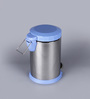 SS Silverware Plain Blue 5 L Pedal Dustbin with Lid