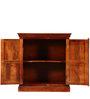 Sumana Handcrafted Cabinet in Honey Oak Finish by Mudramark