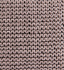 SWHF Brown Cotton 18 x 18 inch Hand-knitted Cushion Cover