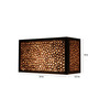Sylvn Studio Brown Corrugated Board Constellation Wall Mounted Lamp