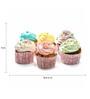 Tallenge Photographic Paper 18 x 1 x 12 Inch Art For Kitchen Cupcake Adventures Framed Digital Art Print