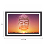 Tallenge Photographic Paper 18 x 1 x 12 Inch Buddha And The Sky Framed Digital Art Print