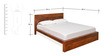 Thyme Queen Bed in Honey Brown Colour by @home