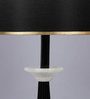 The 7Th Galaxy Black Parchment Table Lamp