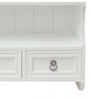 Afken Contemporary Wall Shelf in White by Amberville
