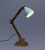 Poppy Table Lamp in Blue by Bohemiana