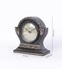 The Mikky Shoppe Station Black Mango Wood & MDF Table Clock