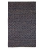 The Rug Republic Multicolour Jute & Fabric Geometric Pattern Carpet