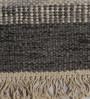 Tulsiram Rugs Multicolour Wool 90 x 63 Inch Abstract Carpet