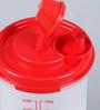 Tupperware Midi Magic Oil Flow Red 650 ML Oil Dispenser with lid - Set of 2